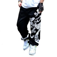 MISNIKI 2017 Hip Hop Style Dance Pantalone Male Baggy Harem Pants Men Loose Drop Crotch Harem Pants Men Pants S-3XL