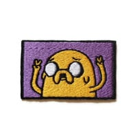 Iron on Adventure Time Jake the Dog FOUR weeks by ThatsWhatINeeded