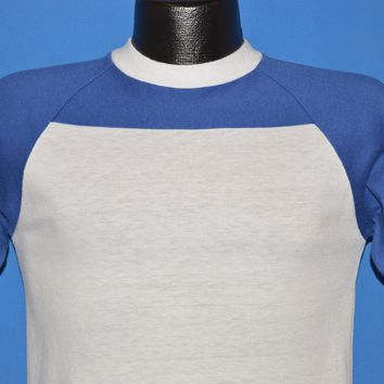 80s Bantams Blue And White Ringer t-shirt Small