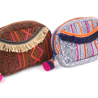 17129 Hmong Batik Makeup Bag*
