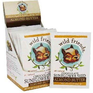 Wild Friends Almond Butter Squeeze Pack Chocolate Sunflower Seed -10x1.15 OZ-