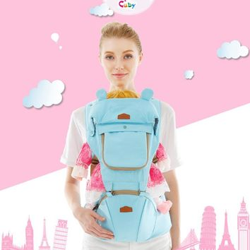 Cuby Cotton Ergonomic Baby Carrier Backpacks Canguru Baby Chicco Newborn Sling Wrap Multifunction infant Baby sling Carrier