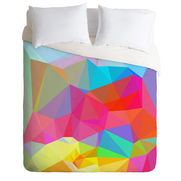 Three Of The Possessed Crystal Crush Duvet Cover