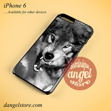 Angry Wolf Phone case for iPhone 6 and another iPhone devices