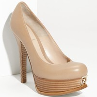 Fendi 'Fendista' Double Platform Pump