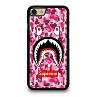 SUPREME BAPE CAMO SHARK Case for iPhone iPod Samsung Galaxy