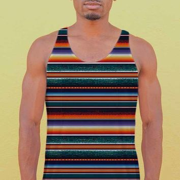 Men's Blanket Stripe Tank Top