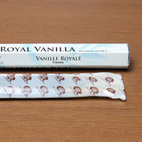 1 Bag (18sticks) Simple Pack Imported from India Incense Sticks Handmade Royal Vanilla Aroma Sticks