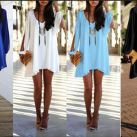 Cool Stylish Casual Chiffon Summer Dress