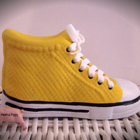 Personalized Yellow Sneaker Bank