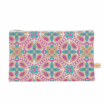 """Nandita Singh """"Boho In Multicolor"""" Pink Abstract Everything Bag"""