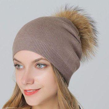 ac VLXC Wool Knit King Size Winter Ladies Outdoors Thicken Hats [110448738329]
