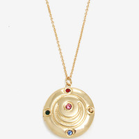 Sailor Moon Transformation Brooch Locket Necklace