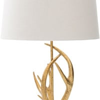 Buckland Glam,Novelty Table Lamp  Painted White