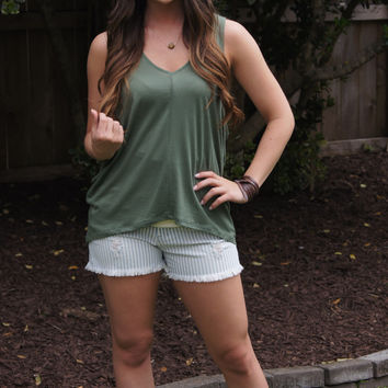 Military Green Tank