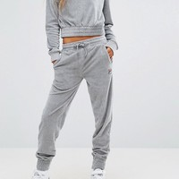 Fila Relaxed Joggers In Luxe Velour Co-ord at asos.com