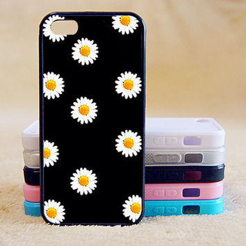 Little Daisy Floral,Custom Case, iPhone 4/4s/5/5s/5C, Samsung Galaxy S2/S3/S4/S5/Note 2/3, Htc One S/M7/M8, Moto G/X