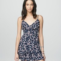 Prince & Fox Ruffled Wrap Dress - Aeropostale
