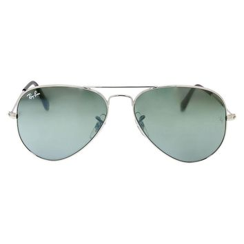 Cheap Ray Ban Aviator Silver Mirror Mens Sunglasses RB3025 W3275 55-14 outlet