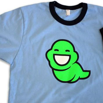 Green Slime Ghost Shirt (RINGER)