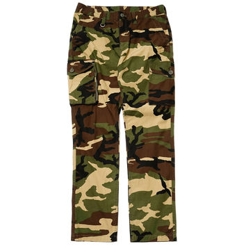 Military Cloth Functional Cargo Pant Camouflage