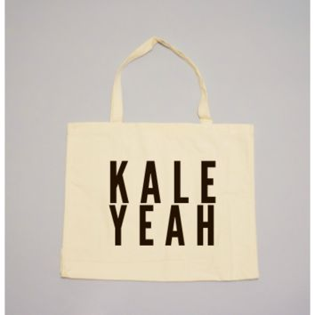KALE YEAH Tote by 24 Carrot Co.