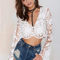 Stone Cold Fox Charlie Lace Blouse
