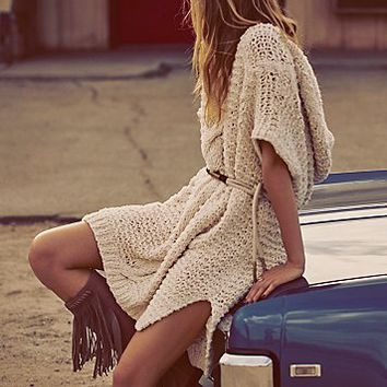 Free People Tulum Nights Cable Tunic