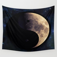 Yin and Yang Wall Tapestry by Geni