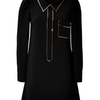 See by Chloé - Sequin Trim Long Sleeve Dress