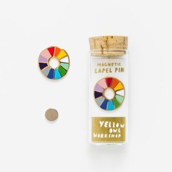 Color Wheel Pin