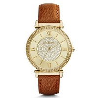 Catlin Pavé Gold-Tone Watch | Michael Kors