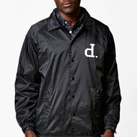 Diamond Supply Co Un-Polo Coach's Windbreaker Jacket - Mens Jacket - Black