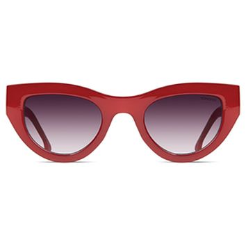 Komono - Phoenix Milky Red Sunglasses