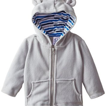 Gerber Baby Boys' Solid Micro Fleece Jacket with Lined Hood