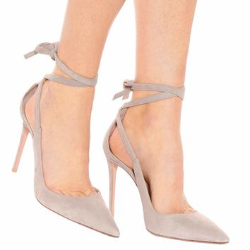 Milano 105 suede pumps