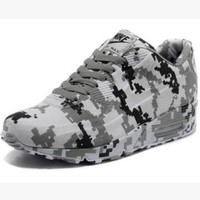 """""""NIKE"""" Trending Fashion Personality Camouflage Casual Sports Shoes Grey"""
