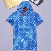 Louis Vuitton X Supreme Fashion Casual Shirt Top Tee-38