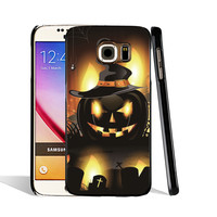 06298 Halloween Vector Black cell phone case cover for Samsung Galaxy S7 edge PLUS S6 S5 S4 S3 MINI