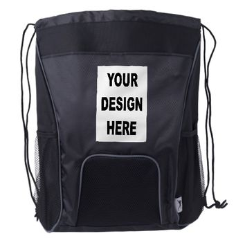 Create Your Own Custom Drawstring Backpack