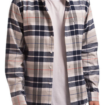 The Rafter Plaid Shirt in White