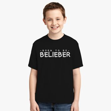 Born To Be Belieber Youth T-shirt