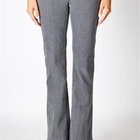 Workin' It Trouser Jean - Gray