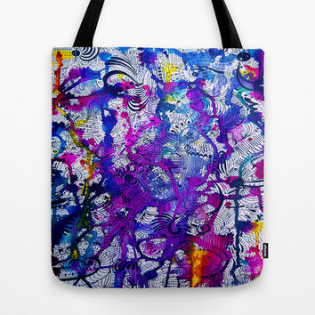 Love Within (color splash) Tote Bag by DuckyB (Brandi)
