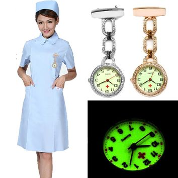 Nurses Watches Doctor Clip-on Fob Quartz Watch