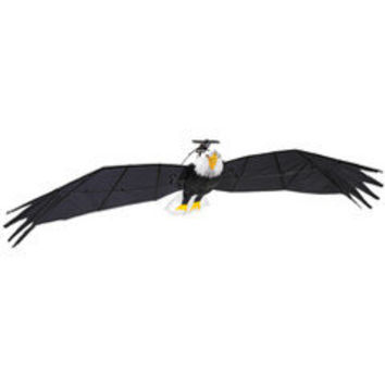 The 9 1/2 Foot Remote Controlled Bald Eagle - Hammacher Schlemmer
