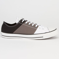 Converse Chuck Taylor All Star Tri Panel Low Mens Shoes White/Charcoal  In Sizes