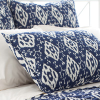 Varkala Indigo Quilted Bedding design by Pine Cone Hill