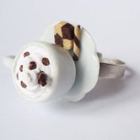 COFFEE TIME - frappuccino - adjustable ring