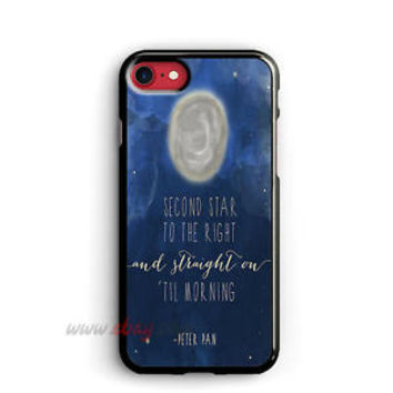 Disney Peter Pan iPhone Cases Quotes Samsung Galaxy Phone Case Disney iPod cover